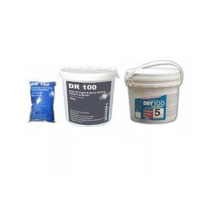 DR100 20kg 보수 몰탈 콘크리트  퍼티 kit 크랙 바닥