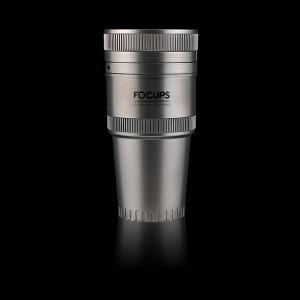 포컵스 차량용 컵홀더 티타늄 최대4개 컵거치 멀티수납