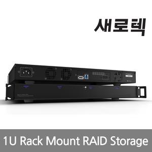 위즈플랫 SRT-9441RUS3 4Bay Rack mount RAID Storage