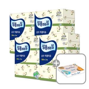 잘풀리는집 순수 미용티슈 180매 12개/ 천연펄프 - 상품 이미지