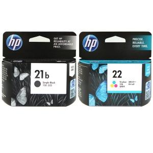 HP정품잉크 C9351B+C9352A 세트/No.21B+No.22/