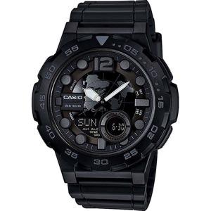 카시오정품 AEQ-100W-1B 스포츠 전자손목시계 방수