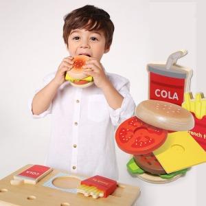 NAMOO 햄버거 만들기 /원목 실제같은 모양