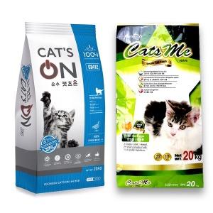 고양이 사료 20kg 캣츠온 캣츠미 캣츠랑 프로베스트캣