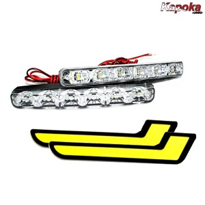 LED 데이라이트 /2개1세트 차량용 주간주행등 DRL
