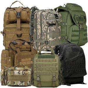 밀리터리/택티컬/군용가방/등산백팩/크로스백 모음전