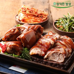 정직한밥상 야식 재구매율 1위 흑마늘 무뼈족발 500g