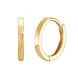 14K GOLD 10mm민자 이어링