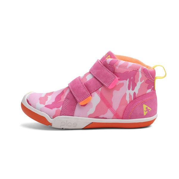 (플래(Plae)) Max(맥스) Pink-Camo/ 아동 유아 스니커즈  프리미엄 남아 여아 운동화  미들탑