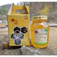 생산자직판 순수꽃꿀 밤꿀/옻꿀/아카시아꿀/햇 화분
