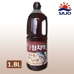 사조 참치액 1.8L 액젓 한라 육수 피쉬소스 연두