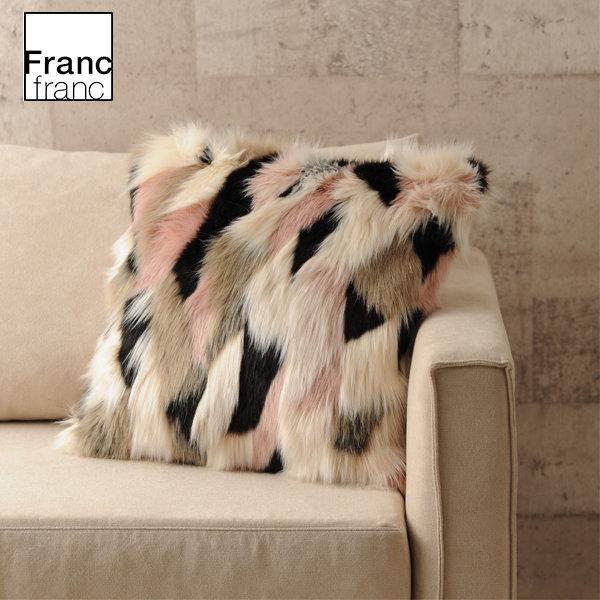 프랑프랑 /Francfranc 450x450 핀고부 쿠션 커버 멀티