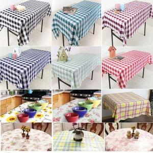 방수 식탁보 사각 원형 면 테이블보 식탁 매트 캠핑