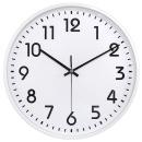 입체 무소음 벽시계 30cm 화이트 국산 대형벽시계