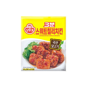 오뚜기 3분스위트칠리치킨150g/3분요리/치킨/즉석식품