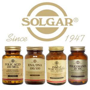 솔가 50종/엽산/핵산/폴리코사놀/에스터C/Solgar