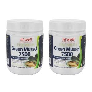 (해외)뉴질랜드초록입홍합 녹색잎홍합7500 300캡슐2개