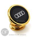 차량용 마그네틱 핸드폰 휴대폰 거치대 골드 Audi St.