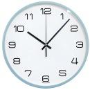 파스텔 블루 무소음벽시계 26cm 인테리어벽시계