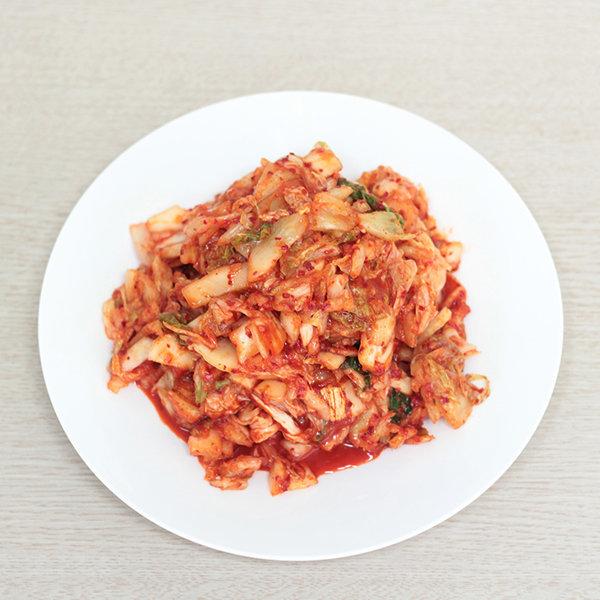 초가집 다진 슬라이스 김치(수입) 10kg