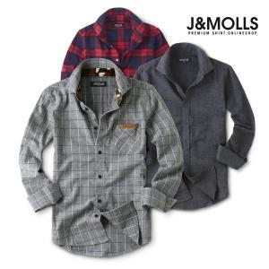 가격인하 겨울용 기모 셔츠/남방/와이셔츠/남자셔츠