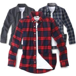 겨울 NEW 기모 셔츠/남방/와이셔츠/남자남방/남성남방