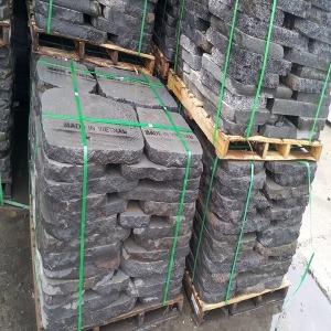 현무암부정형 디딤돌 5cm1파레트52장 외 석재 디딤석