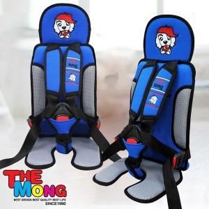 유아 카시트 W2 KC안전인증 어린이 통학차량 EZ 블루