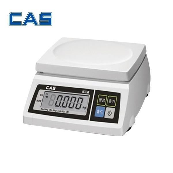 카스 전자저울 SW-1S SWII 2~30kg 주방 계량 저울