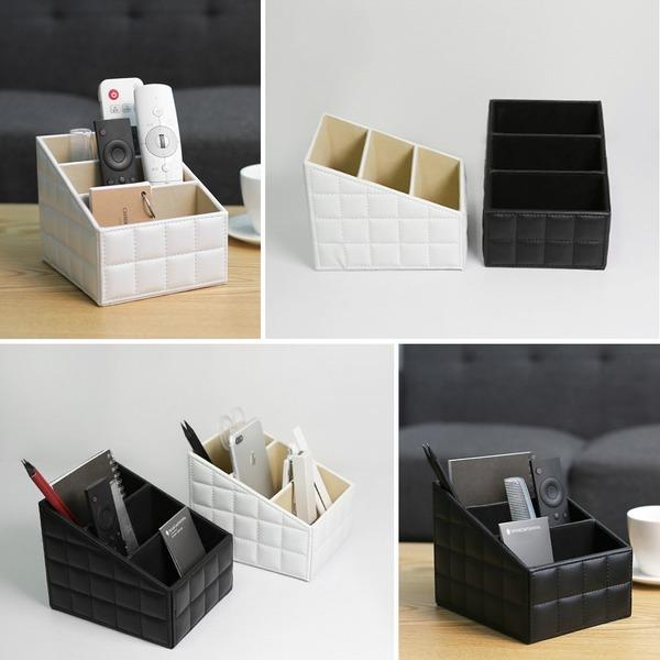 홈데코 인테리어 테이블정리함/데스크책상/리모컨수납