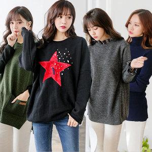 엘리시아 국내제작 겨울신상티셔츠모음/여성빅사이즈