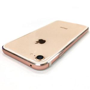 아이폰8 플러스 투명 젤리 범퍼 케이스 강화유리 필름