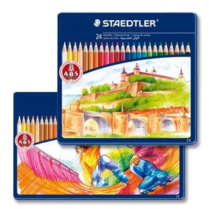 스테들러 145 유성색연필(24/36색) CM24/SPM36
