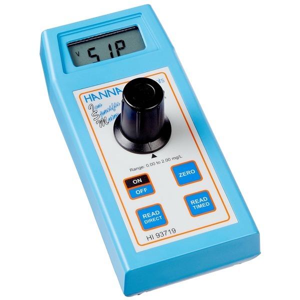 HANNA 디지털 비색계 HI93719 수질 경도계 계측기