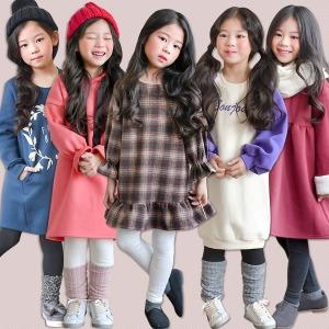 겨울신상 기모 원피스 레깅스 올특가 아동복