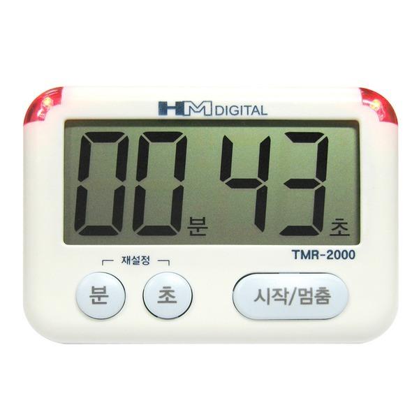 타이머 TMR-2000 디지털 타이머 무음 LED램프