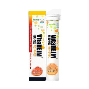 독일 발포비타민 비타하임 아연+비타민C 1통