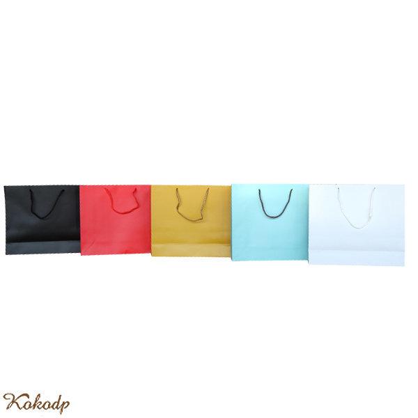 무지 종이가방 쇼핑백 로고인쇄 가능 선물용 봉투