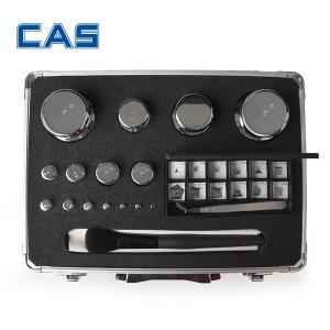 카스 정품 F1급  전자 저울 교정 분동 세트 1mg~5kg