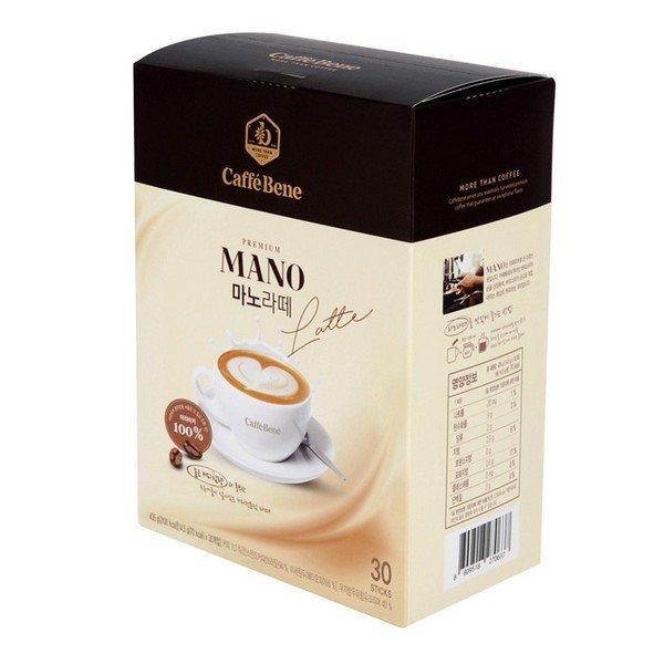 마노 라떼(14.5gX30T/카페베네)