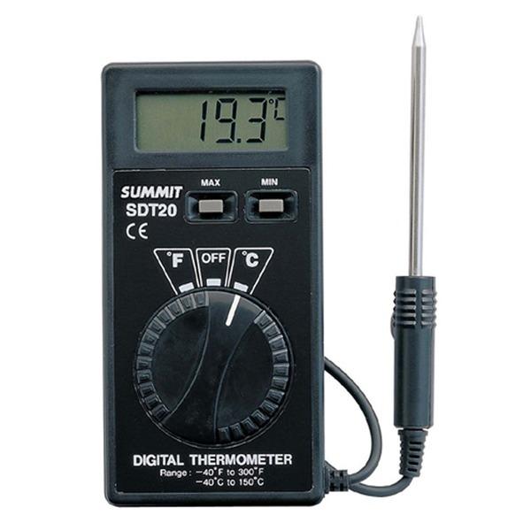 써미트 디지털 휴대용 수첩 액체 탐침 온도계 SDT-20