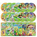 뉴 립프로그 1+2집 33종세트:DVD16종+CD17종+대본15권 사은품 증정