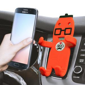 브리사 송풍구 차량용 핸드폰 거치대 3D 캐릭터