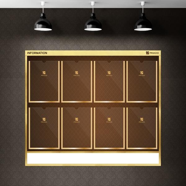 슬림디자인 게시판 고급메탈 아파트 엘레베이터용 8칸
