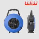 세이즈 X1 블루 10M 4구 코드릴 전기 릴선 캠핑 1.5SQ