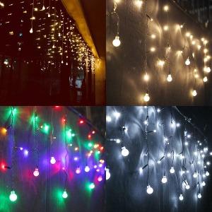 LED 연결 고드름라이트 /트리전구 /1000구까지연결