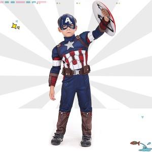 캡틴아메리카 의상 방패 남아 어린이 크리스마스선물