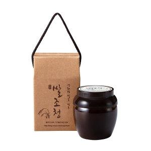 강화섬쌀과 국내산엿기름만으로  만든 쌀조청(500g)