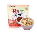 두리두리 김치라면밥105g 시원한 김치와 라면이 일품인