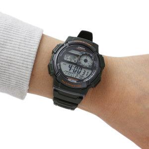 카시오 AE-1000W-3A 스포츠전자손목시계 남성여성입대